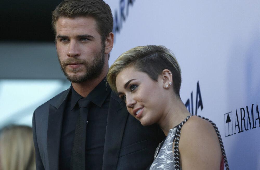 Isa lobises saladuse välja: Miley Cyrus abiellus salaja kauaaegse kallimaga?