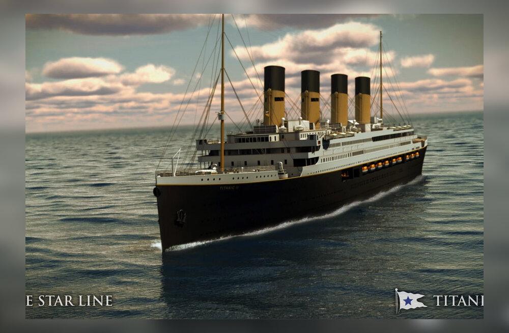 Titanic II saab ehtsad kolmanda klassi kajutid - linadeta naride ja pesukausiga