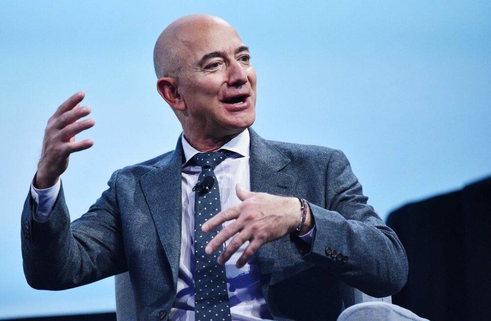 Miljardär Jeff Bezos korraldas oma kihlatule kaks juubelipidu: kohal oli mitmeid maailmakuulsaid staare