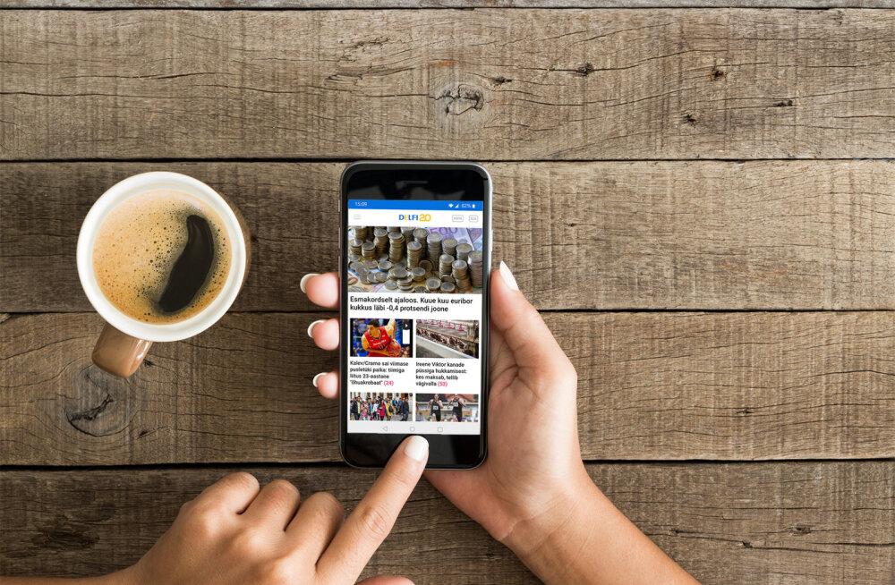 Oluline: iOS-i kasutaja, uuenda oma Delfi mobiilirakendust