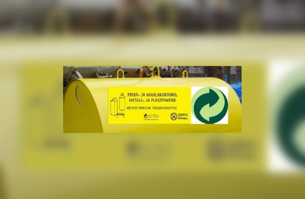 Üle Eesti paigaldatakse 1500 uut pakendikonteinerit