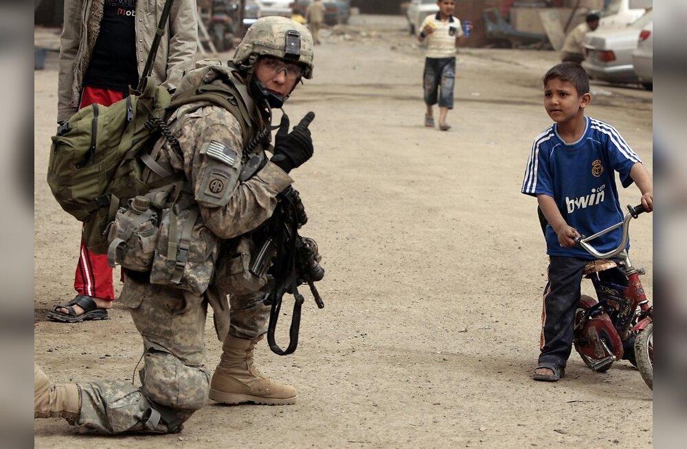 Head aega, Iraak! USA tõi viimased lahingüksused ära