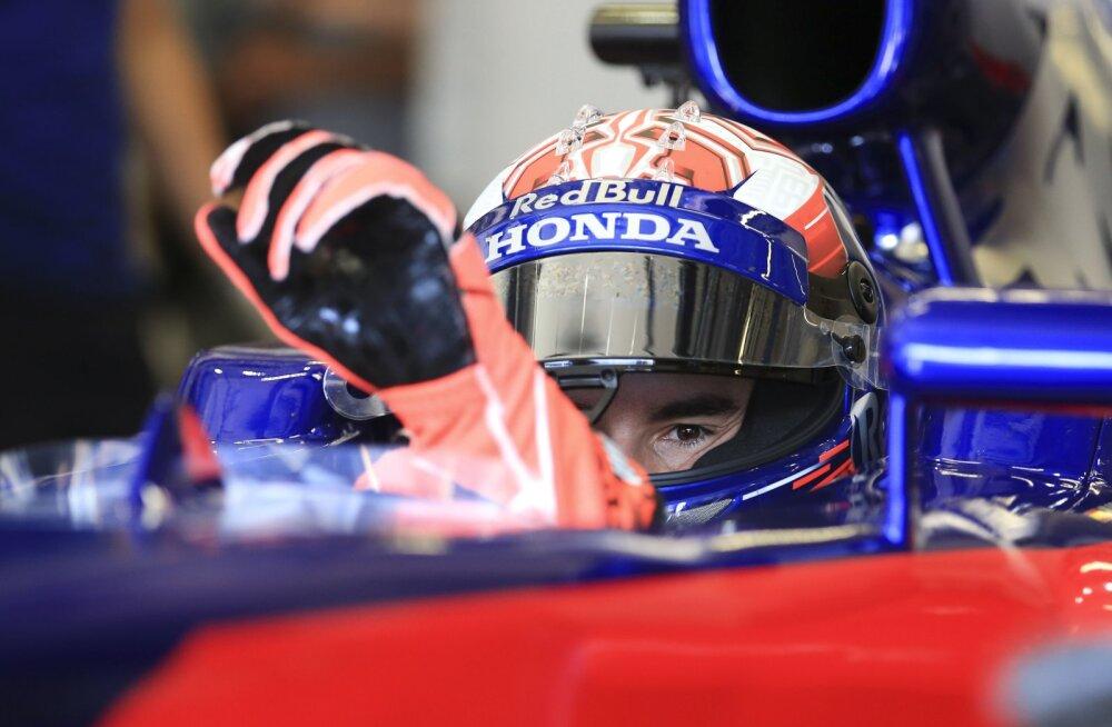 VIDEO | MotoGP tähed Marquez ja Pedrosa testisid vormel-1 autot