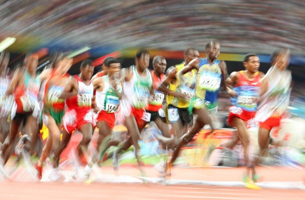 pikamaajooks, keskmaajooks, Pekingi olümpia, jooks, jooksmine