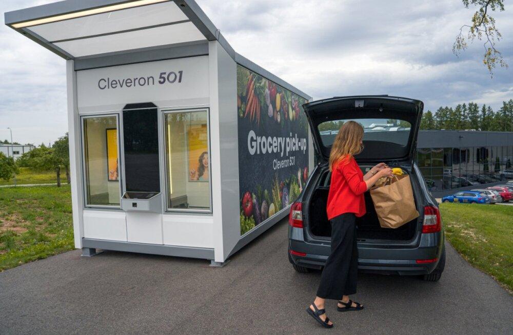FOTOD   Cleveron pakub maailmale midagi täitsa uut – kahetemperatuurilist toidurobotit