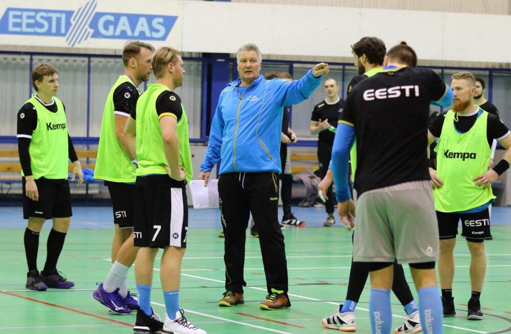 Käsipallikoondise peatreener Sivertsson: peame 120 minutit keskendunult mängima