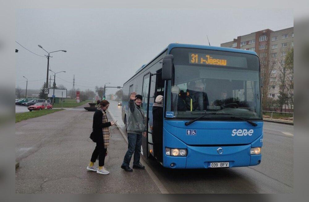 Для улучшения работы общественного транспорта на уездных линиях Ида-Вирумаа выбран новый руководитель