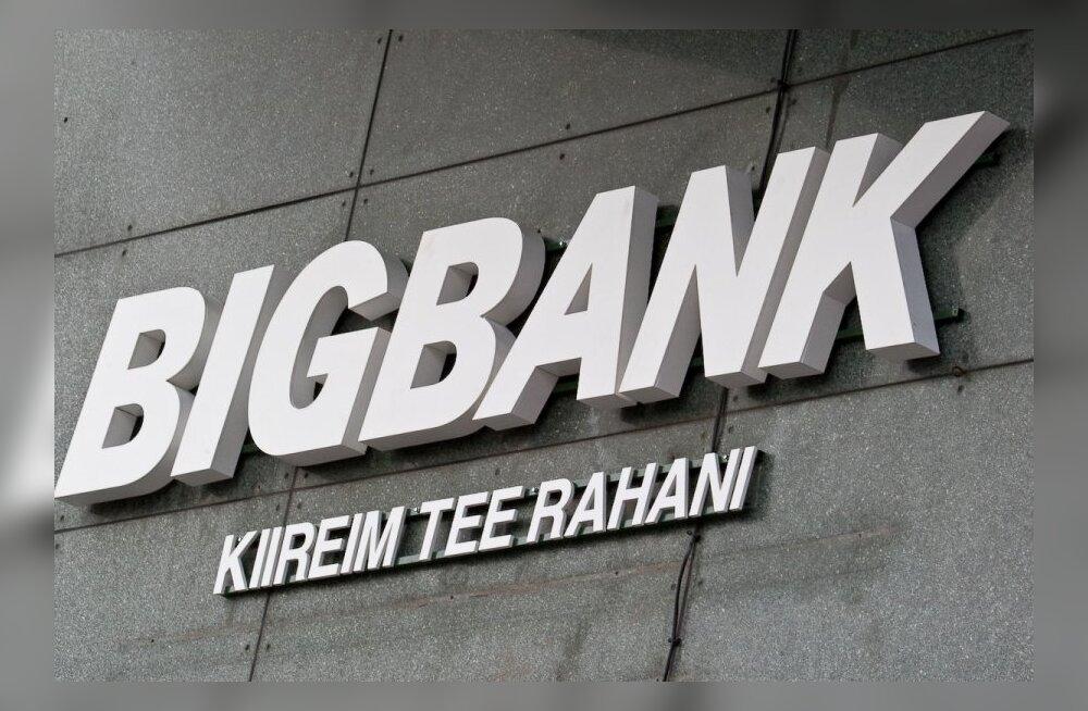 BIGBANK sulgeb Tartu kontori klienditeeninduse