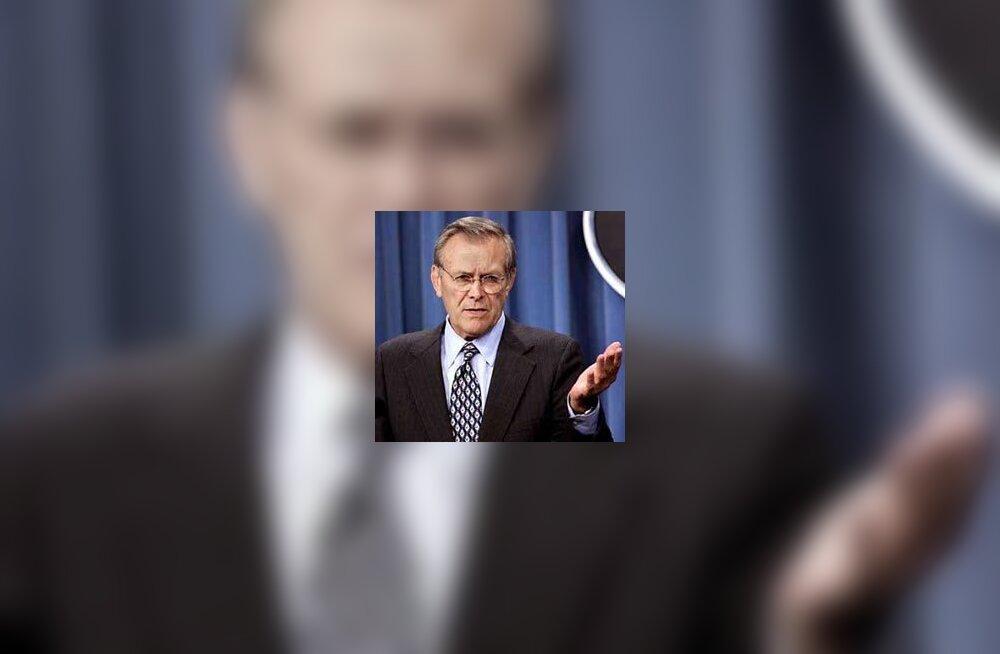 197a81018ea W3 uudised - Rumsfeld lendas esmaspäeval Bagdadi