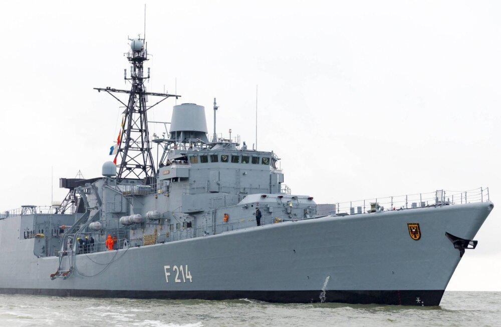 Soome kahtlustab Saksa sõjalaeva oma merepiiri rikkumises