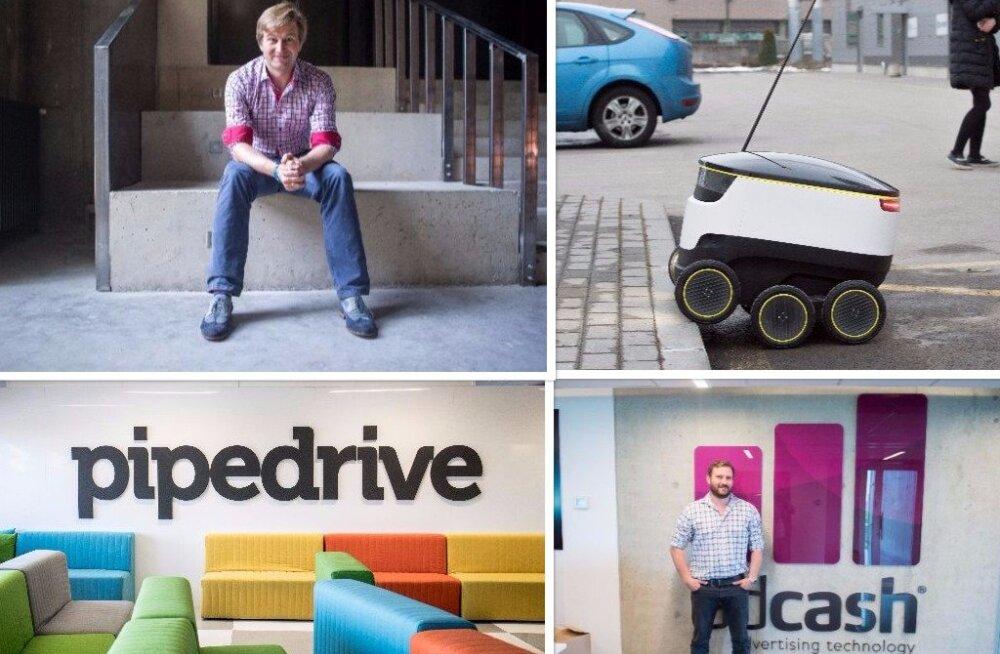 Suurimad tööandjad, kiireimad kasvajad ja kaasatud investeeringud - kuidas möödus esimene poolaasta Eesti startupidele?