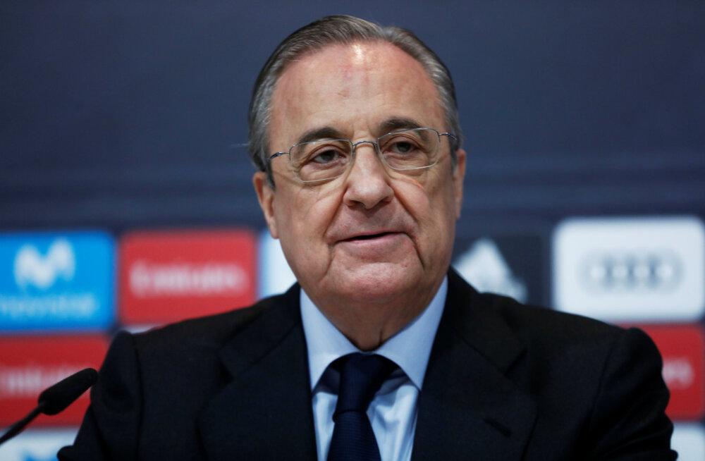 Madridi Reali president lendab Londonisse, et panna ründaja eest lauale 215 miljonit eurot