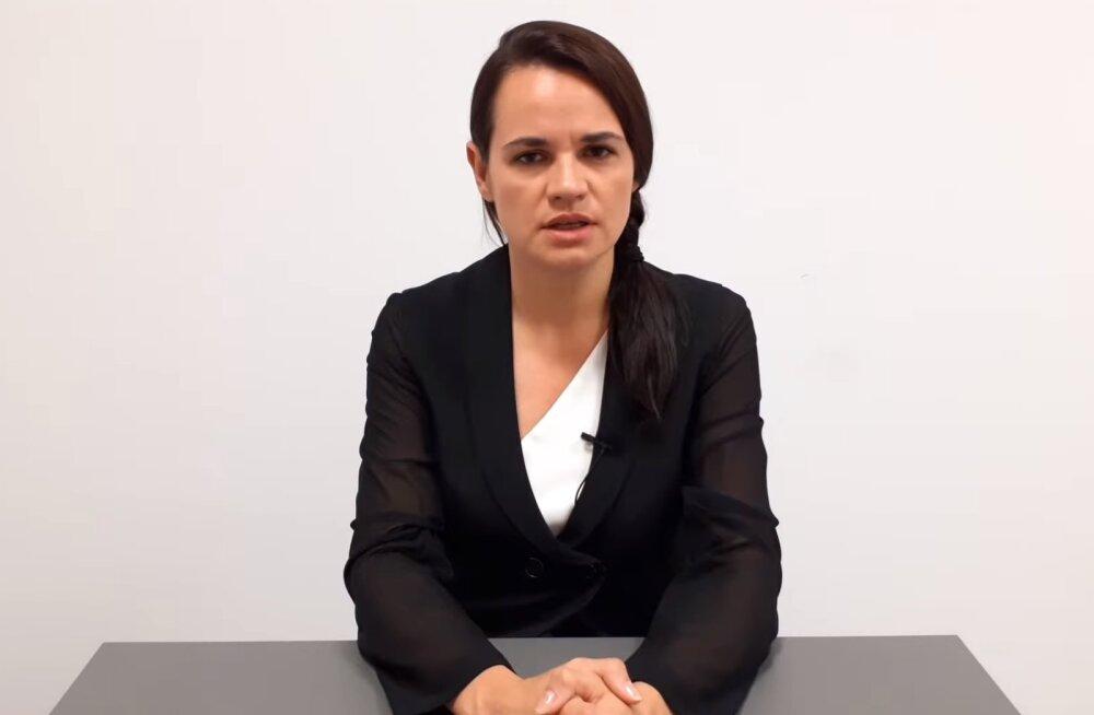 VIDEO | Tsihhanovskaja teatel on ta valmis hakkama Valgevene ajutiseks presidendiks