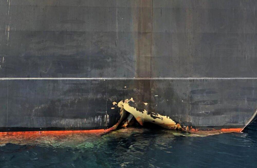USA julgeolekunõunik Bolton: tankerite ründamiseks Ühendemiraatide juures kasutati ilmselt Iraani meremiine