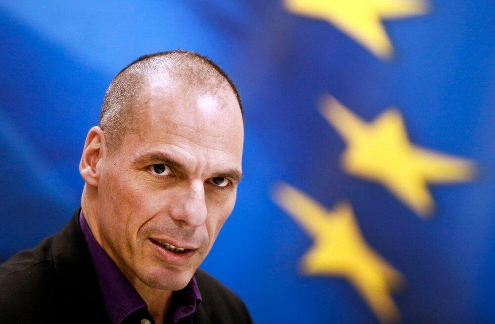 Rahandusminister Varoufakis: Kreeka ei maksa oma võlgu kunagi tagasi