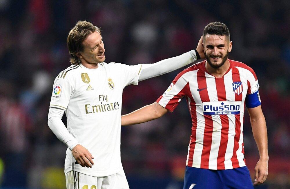 Atletico ja Real tegid igava viigi, Real suutis liidrikoha säilitada