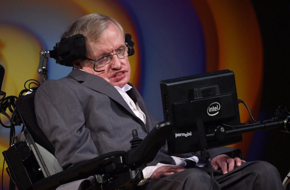 Stephen Hawking oma postuumses raamatus: jumalat ei ole olemas!