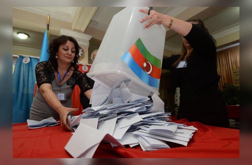 OSCE vaatlejad leidsid rikkumisi Aserbaidžaani valimiste kõigil etappidel