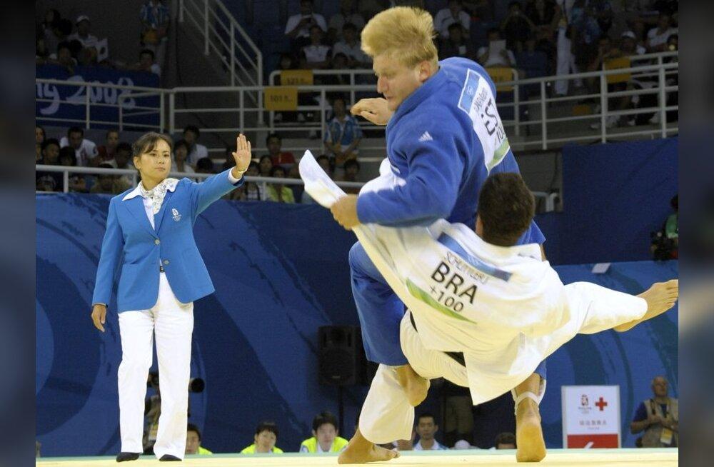 Martin Padar võidutses judo MK etapil