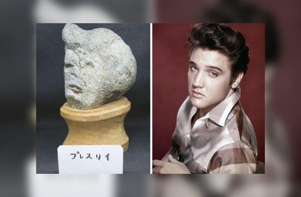 Японский музей камней с человеческими лицами