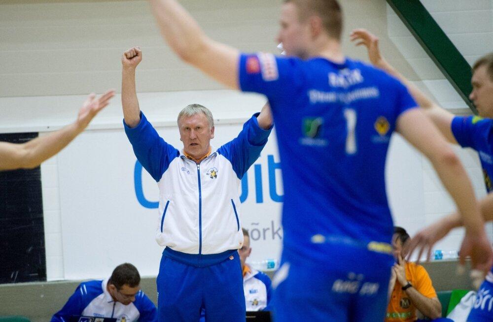 Võrkpall Selver vs Pärnu