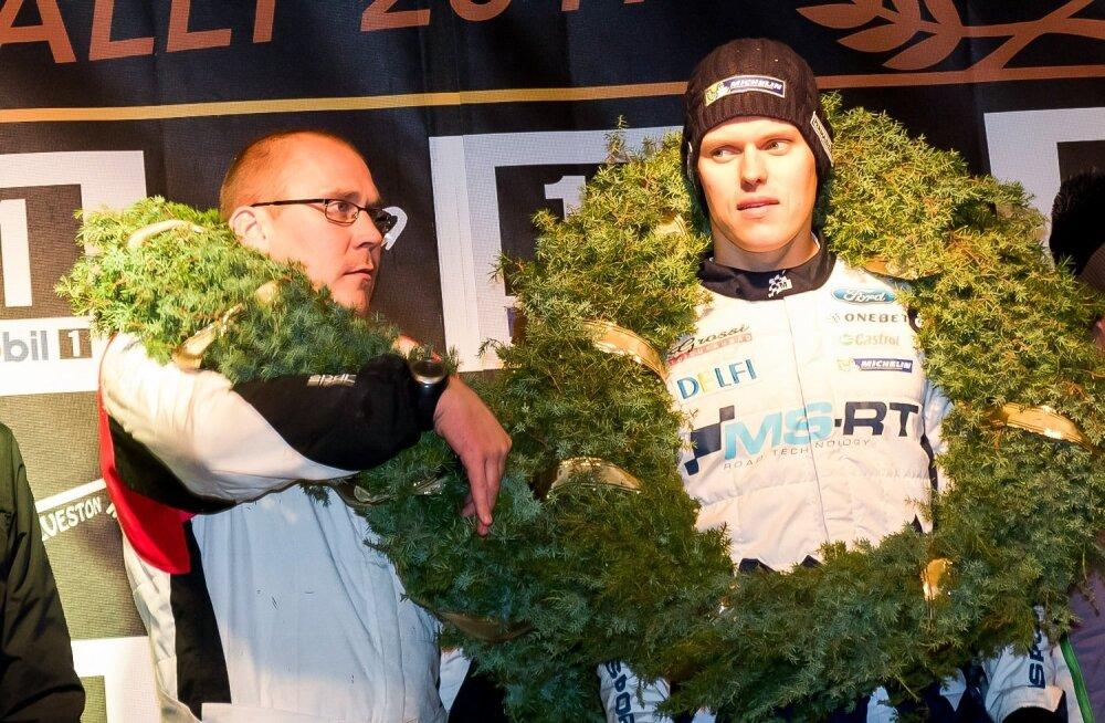 50 Saaremaa ralli lõpetamine