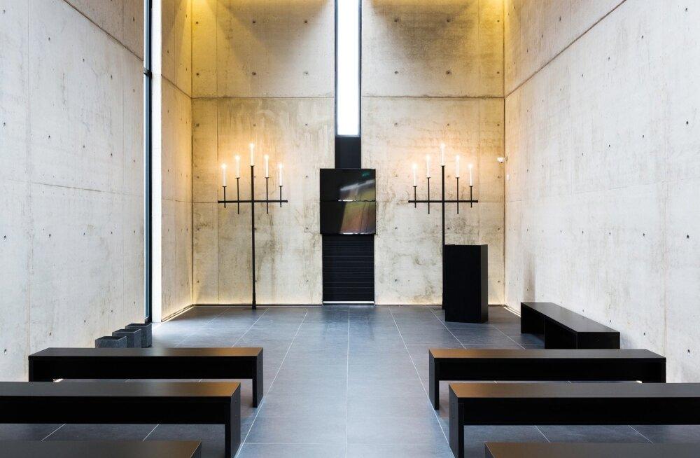 Viljandi krematoorium-tavandisaal