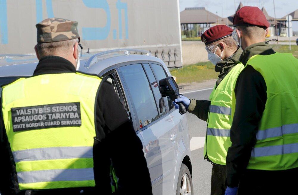 Эстонец на авто с фальшивыми номерами пытался дать взятку на литовско-латвийской границе