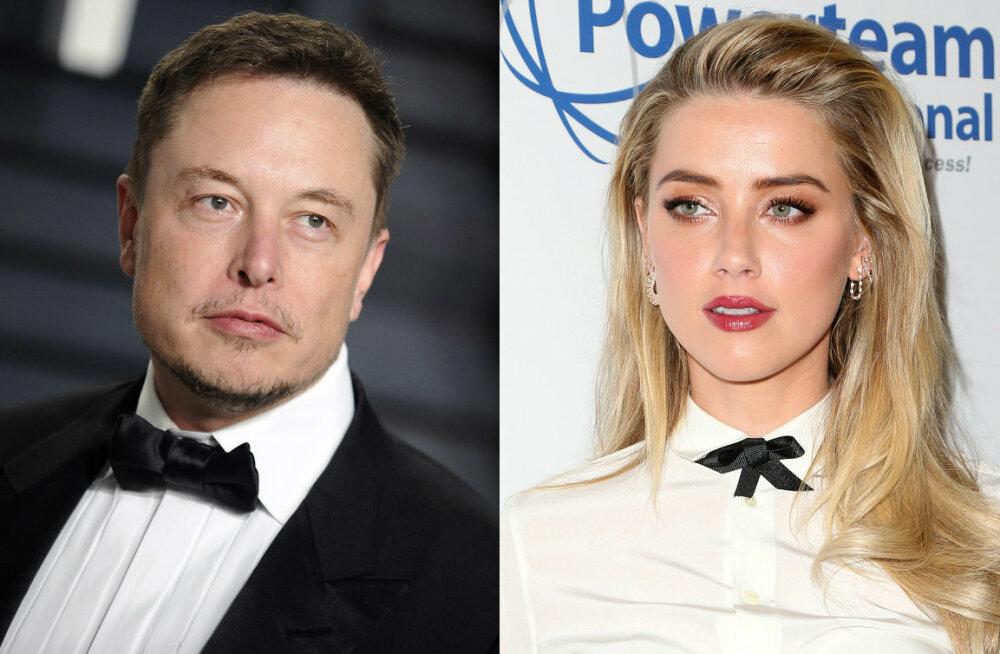 Elon Musk ja Amber Heard