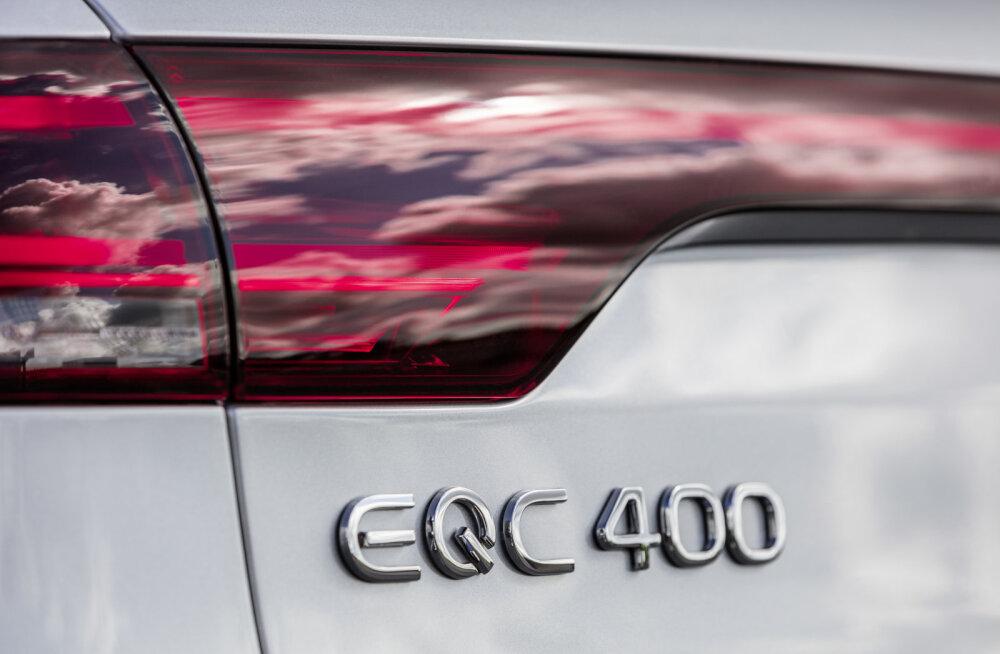 GALERII | Kas Mercedes jäi peole lootusetult hiljaks? Firma tutvustas oma elektrimaasturit alles nüüd