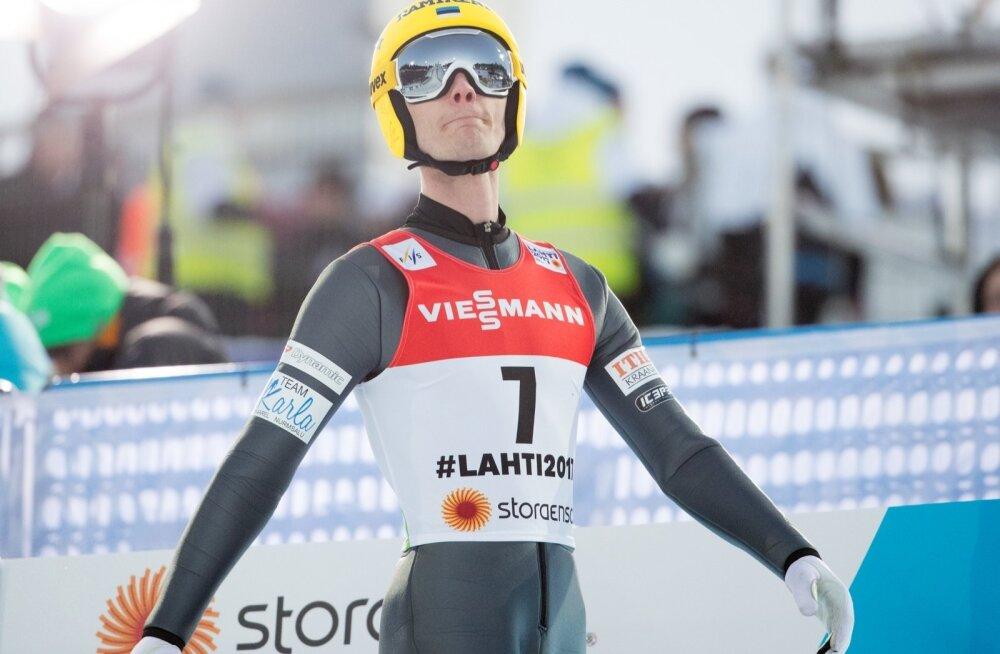 Lahti MM suusahüpped Kaarel Nurmsalu