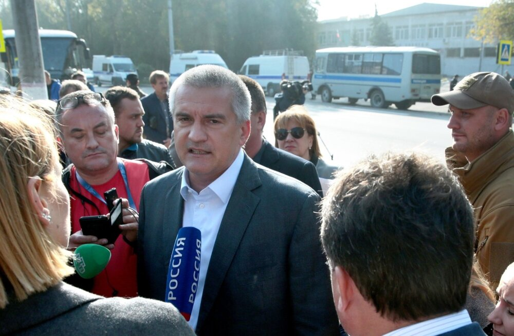 Krimmi juht Aksjonov: õpilane ei saanud üksi Kertšis plahvatust ja tulistamist korraldada