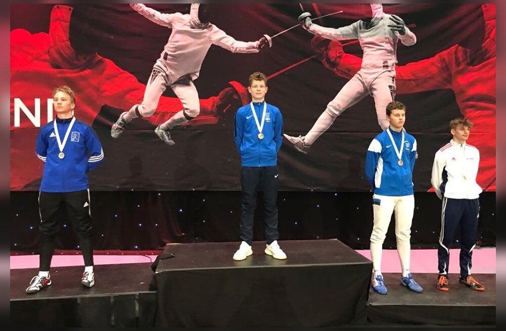 Gabriela Truuse ja Erik Tobias võidutsesid Põhjamaade Meistrivõistlustel