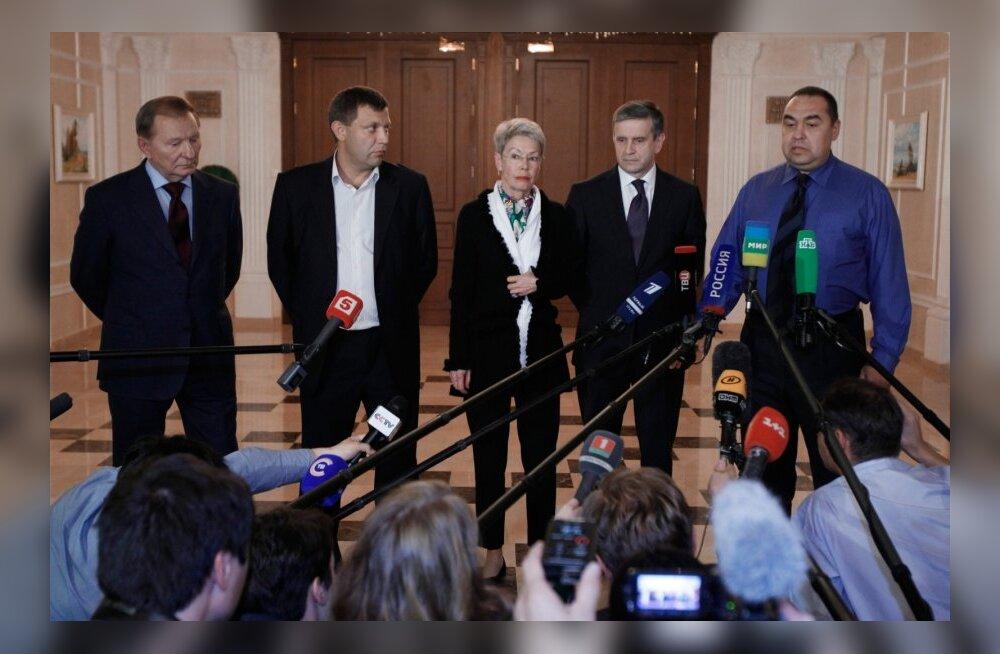 """Vangide vahetamine: """"rahvavabariigid"""" tahavad Kiievilt 300, Ukraina neilt enam kui 500 inimese vabastamist"""