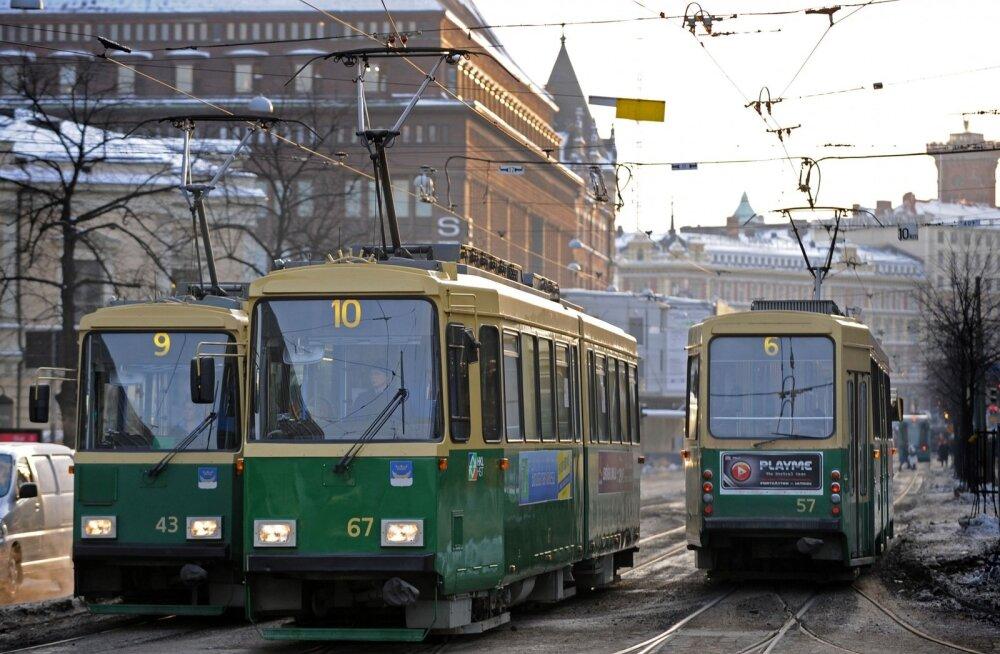 Helsingis peatub reedel poliitilise streigi tõttu pea kogu ühistransport