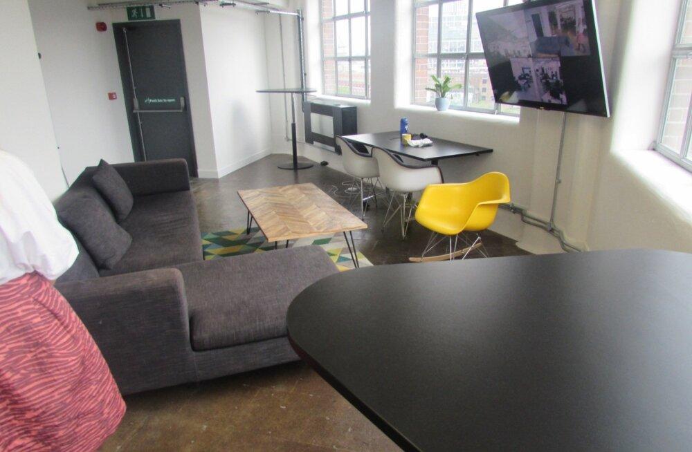Transferwise'i uus kontor Londonis