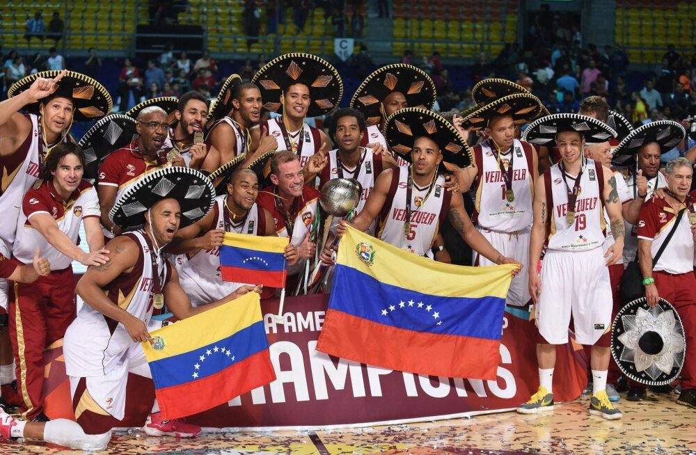 Ajalugu teinud Venetsueela korvpallikoondis