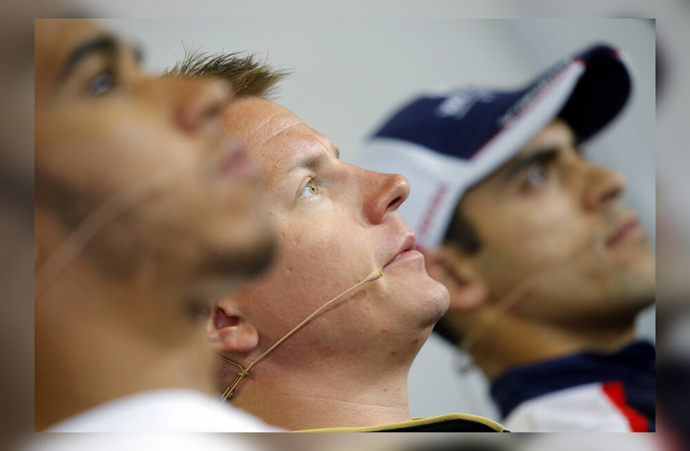 Hamilton, Räikkönen ja Maldonado