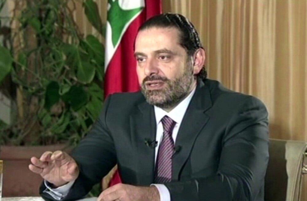 Liibanoni president: Saudi Araabias tagasiastumisest teatanud peaminister Hariri tuleb lugeda kinnipeetuks