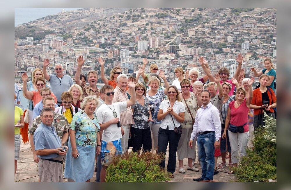 GALERII: Maalehe 1. reisigrupp Korful ja Albaanias