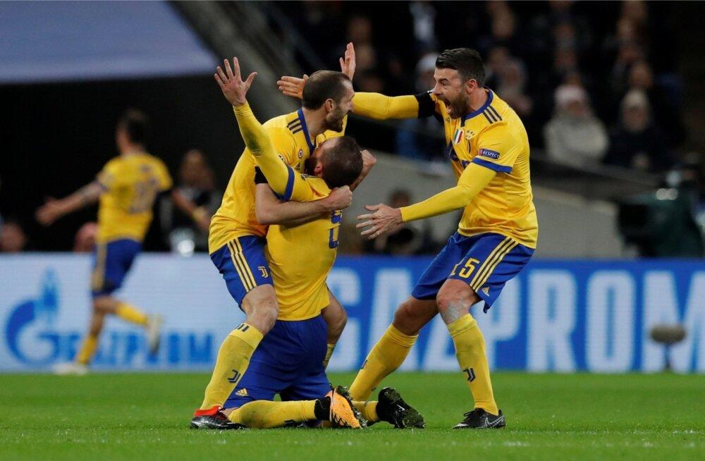 Juventuse mängijate rõõm on piiritu