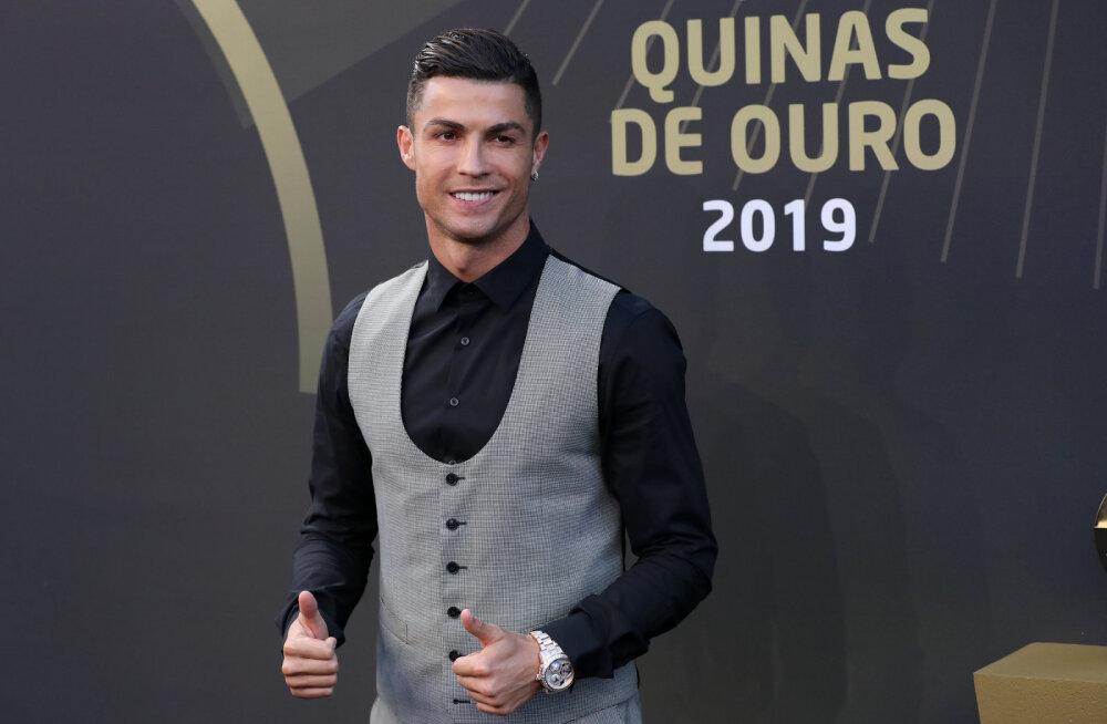 UEFA parimate valimisel võiduta jäänud Ronaldo sai kodumaalt lohutust