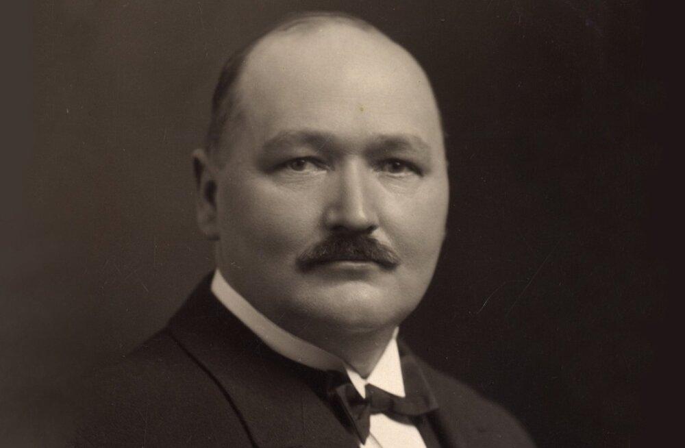 Tema Majesteedi ülemkondiiter Ernst Johannes Kollist 1930. aastal.