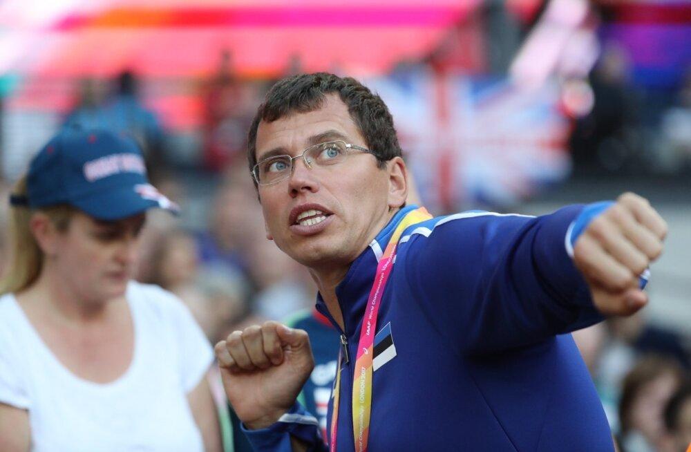 Heiko Väät on hommikust õhtuni rakkes, peale Eesti odaviske paremiku treenib ta ka 44 noorsportlast.