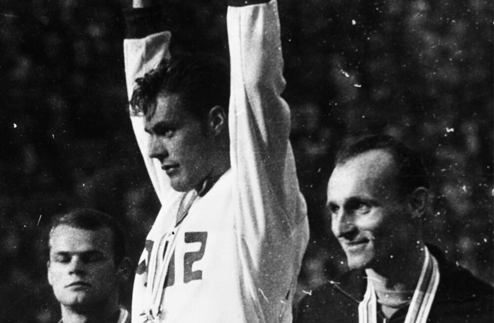 48aee9a3dac Pauli Nevala võitis Tokyo olümpial kulla, Janis Lusis oli kolmas. Neli  aastat hiljem algas
