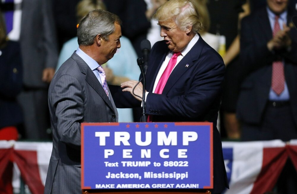 Nigel Farage ja Donald Trump