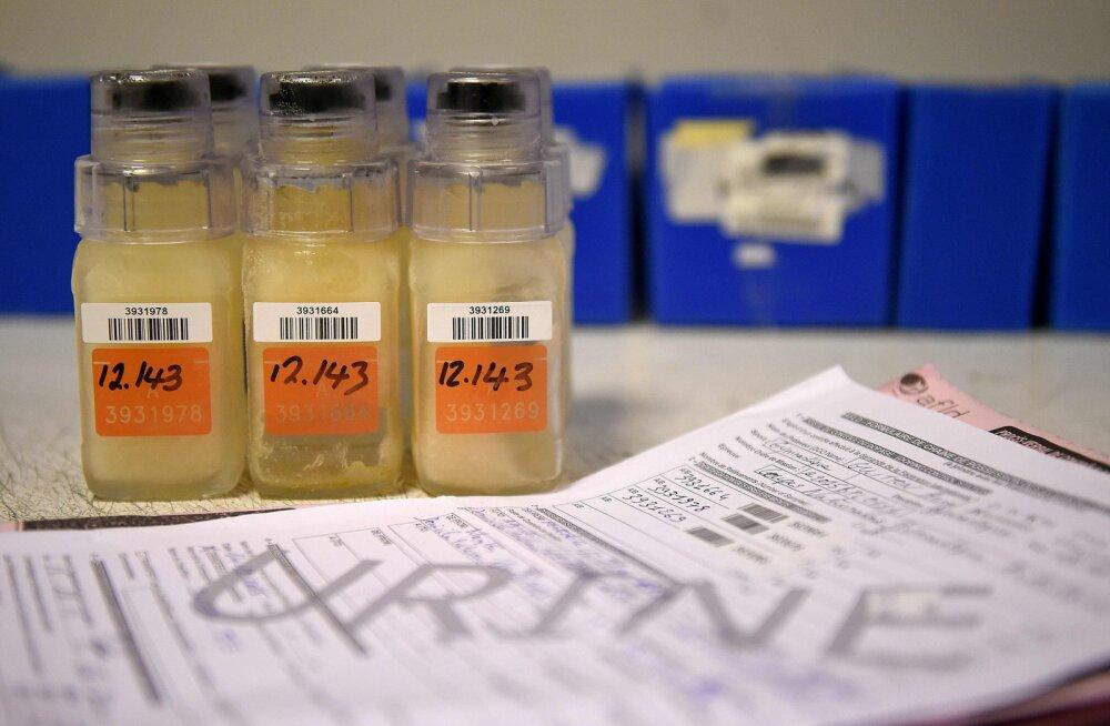 Vene sportlaste dopingupihtimused: loputasime tabletid alla alkoholiga