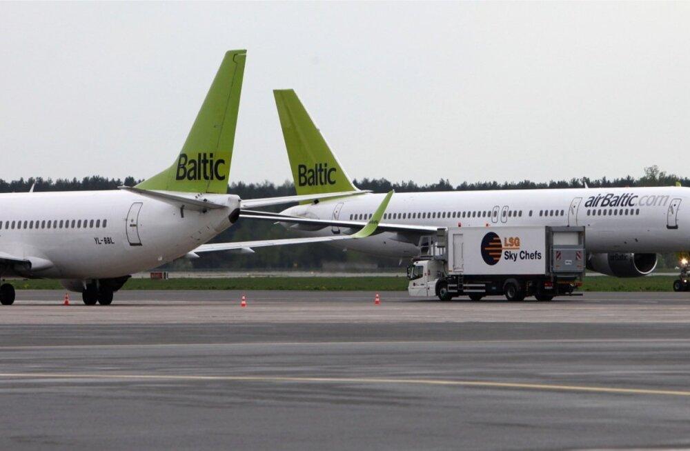 AirBalticu pilootidel keelati üksi kokpitti jäämine