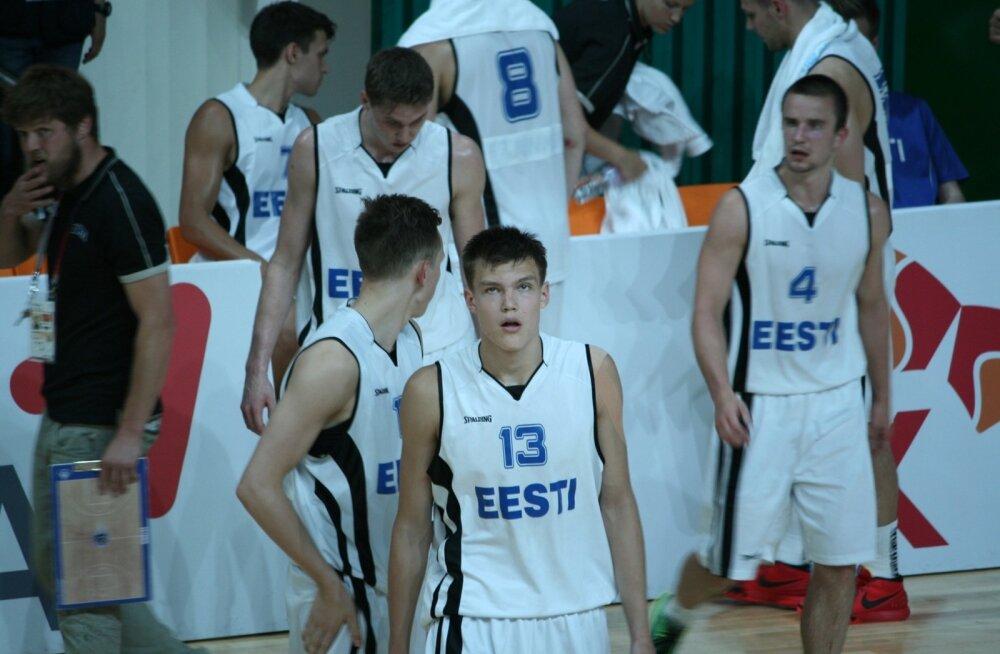 Eesti universiaadikoondis mängus Saksamaaga