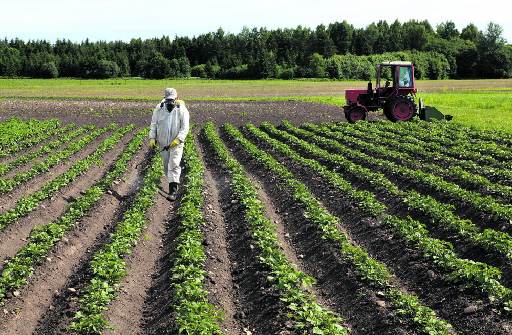 Kas populaarne taimekaitsevahend ohustab inimesi?